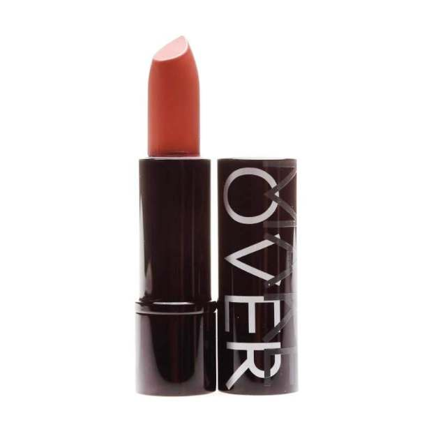 Make Over Ultra Shine Lipstick warna Peach Vaganza