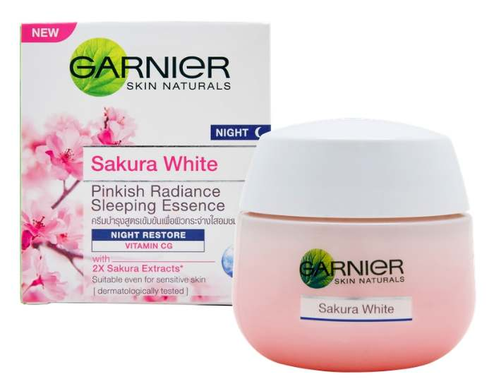 Garnier Sakura White Night Cream