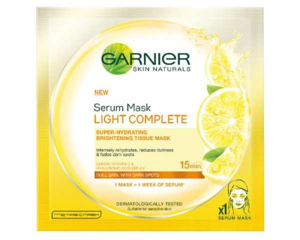 Garnier Serum Mask Hydra Bomb Light Complete