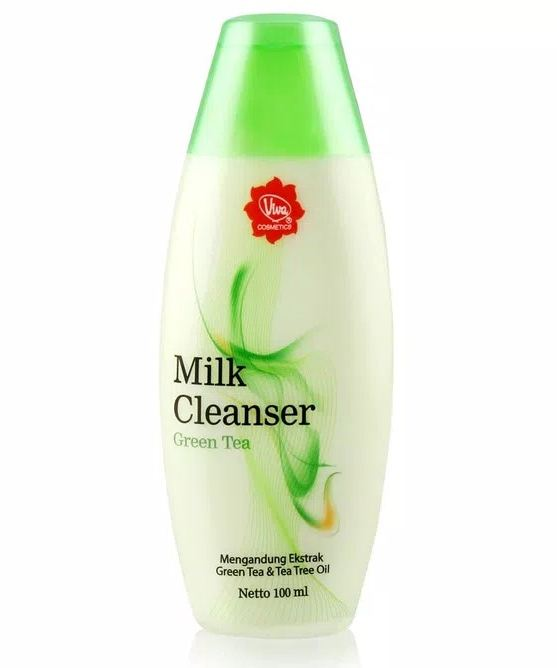 viva MILK CLEANSER GREEN TEA