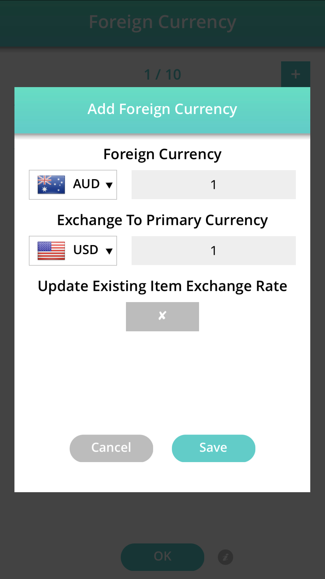 price book add foreign currency