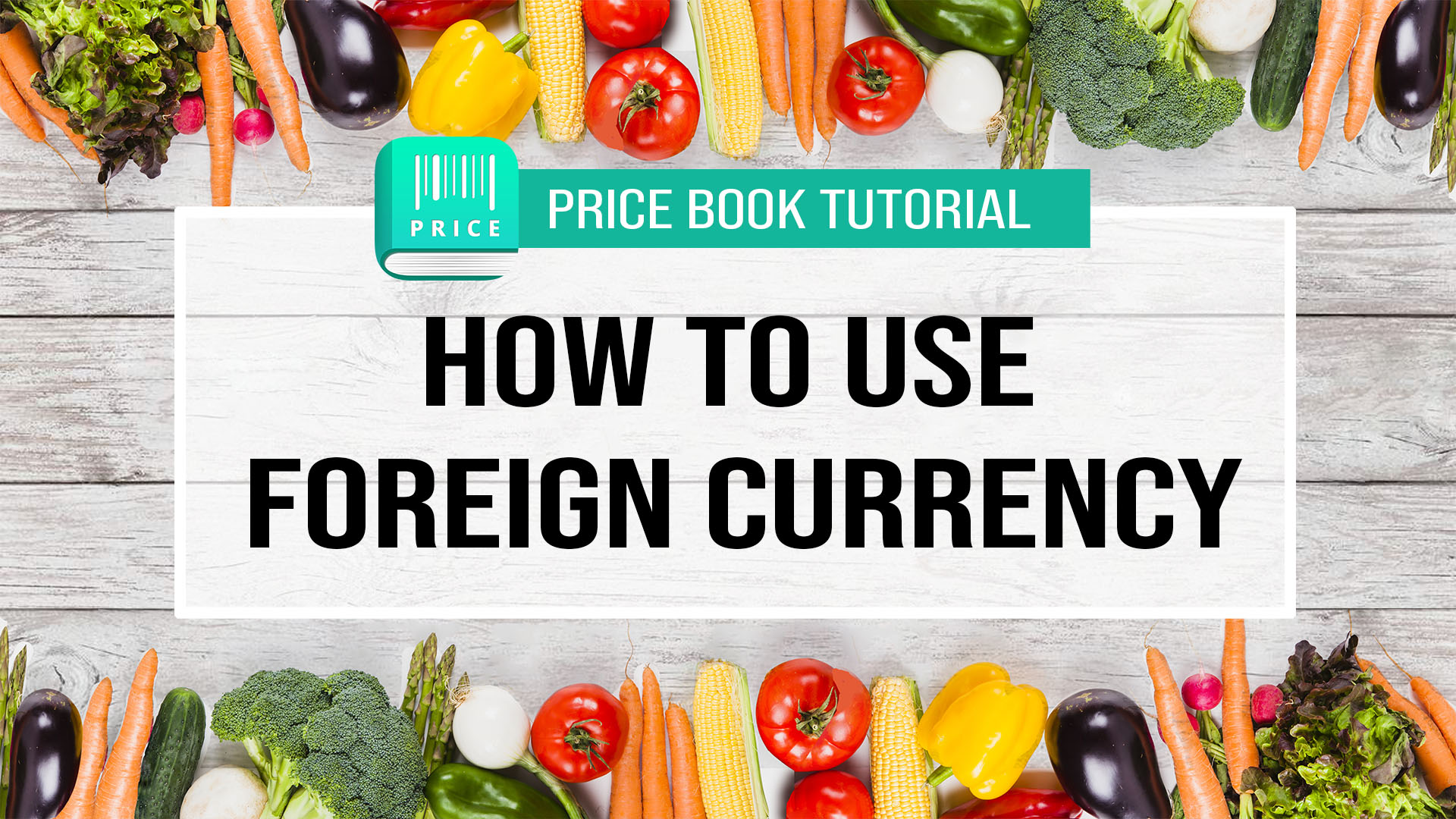 Price Book How to use foreign currency tutorial