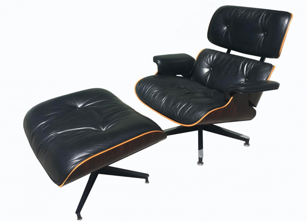 Eames Lounge Chair And Ottoman Vintage Film And Furniture