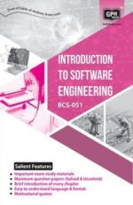 BCS-51 Book - Introduction To Software Engineering  ( 5th Semester )