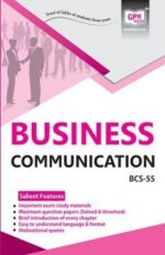 BCS 55 Business Communication (IGNOU Help book for BCS-55 in English Medium)
