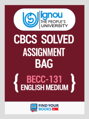 BECC 131 Solved Assignment for Ignou 2019-20
