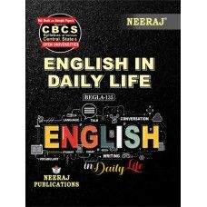 BEGLA-135 Book - English in Daily Life for 2020 Exams