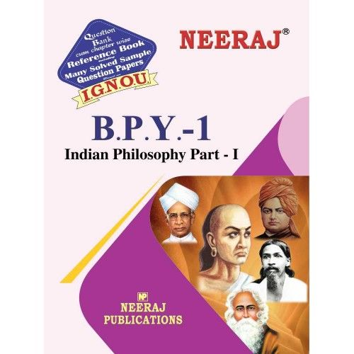 IGNOU BPY-1 Indian Philosophy: Part I in English Medium