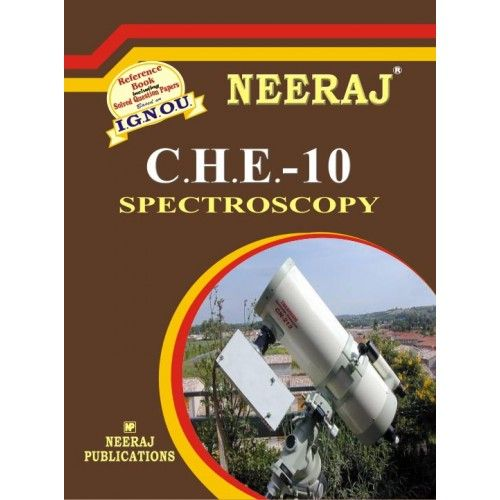 IGNOU : CHE-10 Spectroscopy- English Medium