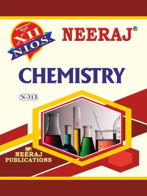 NIOS 313 Chemistry Guide/Book in English Medium for 2020 Exam