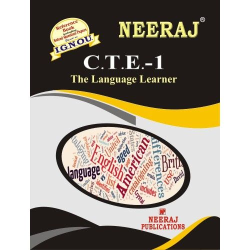 CTE1 The Language Learner in English Medium