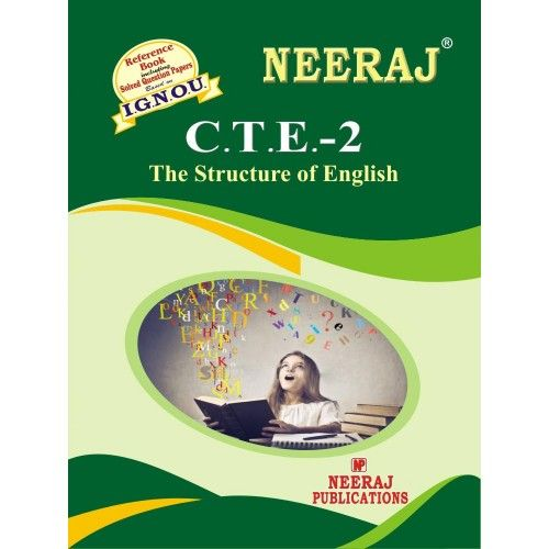 CTE2 The Structure Of English  English Medium