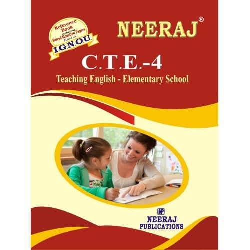 CTE4 Teaching English --- Elementary Level  English Medium