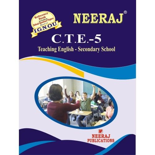 CTE5 Teaching English --- Secondary Level English Medium