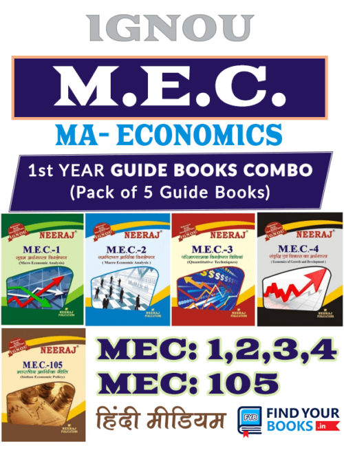 IGNOU MEC Books - MA Economics Guides for Exams Preparation