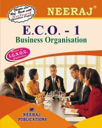 IGNOU : ECO-1 Business Organisation- English Medium
