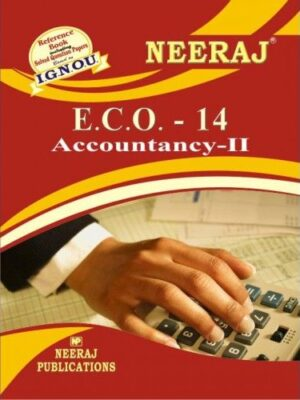 IGNOU : ECO-14 Accountancy - II - English Medium