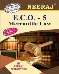 IGNOU : ECO-5 Mercantile Law - English Medium