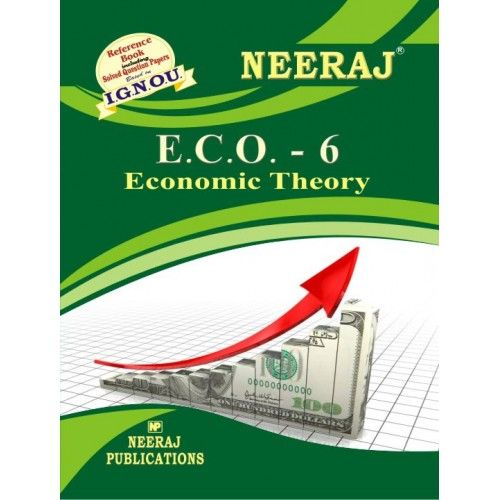 IGNOU : ECO-6 Economic Theory - English Medium