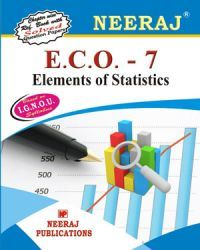 IGNOU : ECO-7 Elements Of Statistics - English Medium