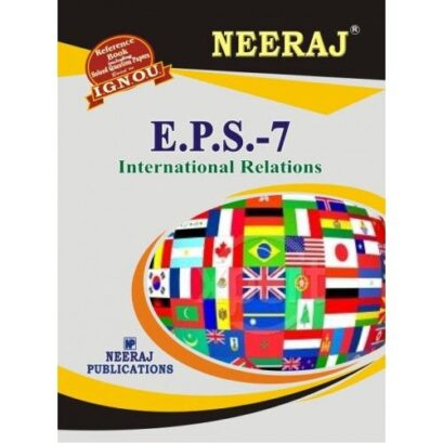 EPS-7-IGNOU help book for EPS7 in English Medium
