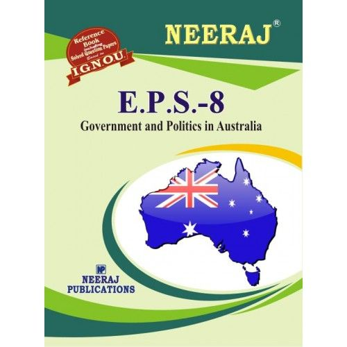 IGNOU : EPS-8 GOVERNMENT AND POLITICS IN AUSTRALIA (HINDI)