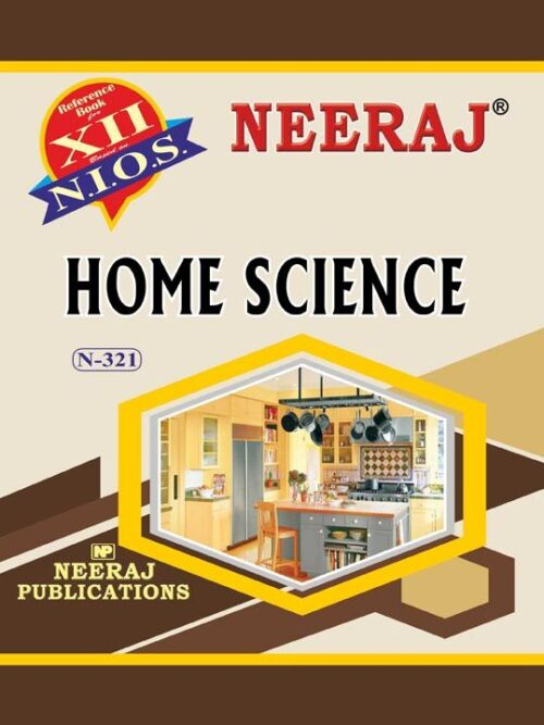 NIOS 321 Home Science Guide/Book in English Medium for 2020 Exam