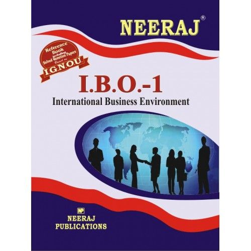 IGNOU: IBO-1 International Business Environment-English Medium