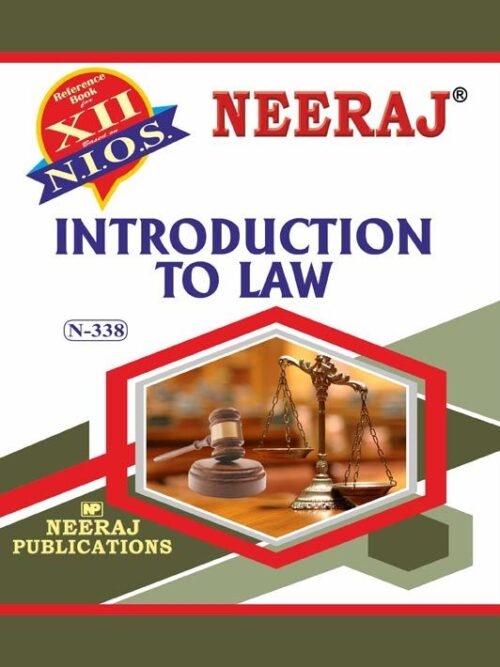 NIOS-338 Introduction to Law Guide/Book in English Medium for 2020 Exam