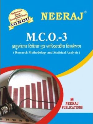 IGNOU: MCO-3 Research Methodology & Statistical Analysis-Hindi Medium
