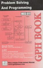 MCS11 Problem Solving And Programming in 'C'  ( 2nd Semester )