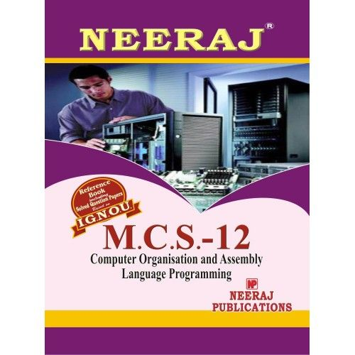 MCS12 Computer Orgnization And Assembly Language Programming  ( 2nd Semester )