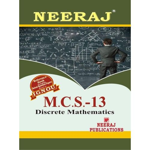 MCS13  Discrete Mathematics  ( 2nd Semester )