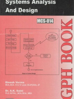 MCS-14 Systems Analysis And Design (IGNOU Help book for MCS-014 in English Medium)