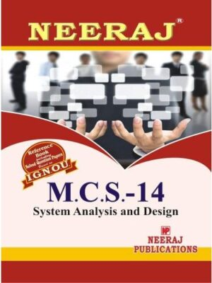 MCS14  System Analysis And Design ( 3rd Semester )