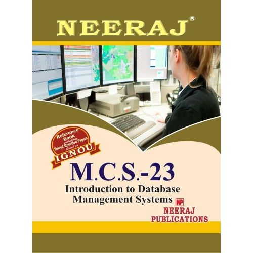 MCS23 Introduction To DBMS  ( 3rd Semester )