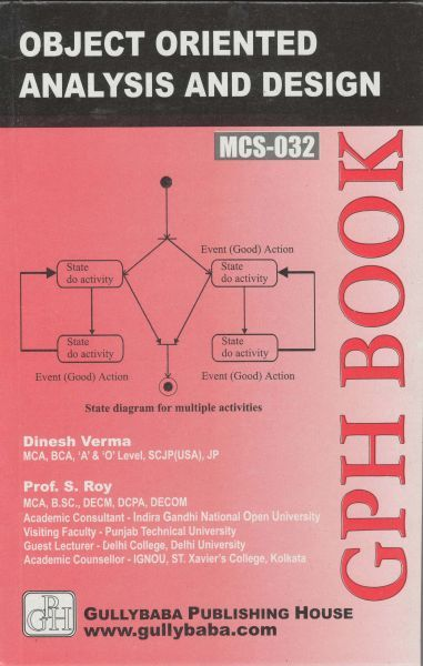 IGNOU : MCS- 032 Object-Oriented Analysis & Design