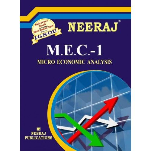 IGNOU: MEC-1 Micro Economic Analysis -English Medium