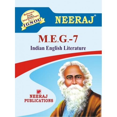 IGNOU: MEG-7 Indian English Literature Help Guide/Book