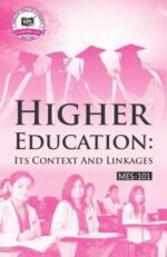 MES-101 IGNOU Help book for MES101 Higher Education: Its Context and Linkages in English Medium
