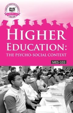 MES-103 IGNOU Help book for MES-103 Higher Education: The Psycho-social Context in English Medium - GPH Books