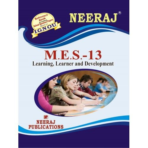 IGNOU: MES-13 Learning