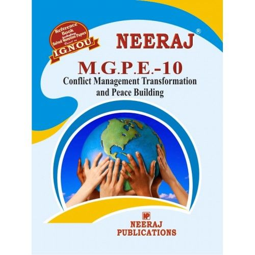 IGNOU: MGPE-10 Conflict Management