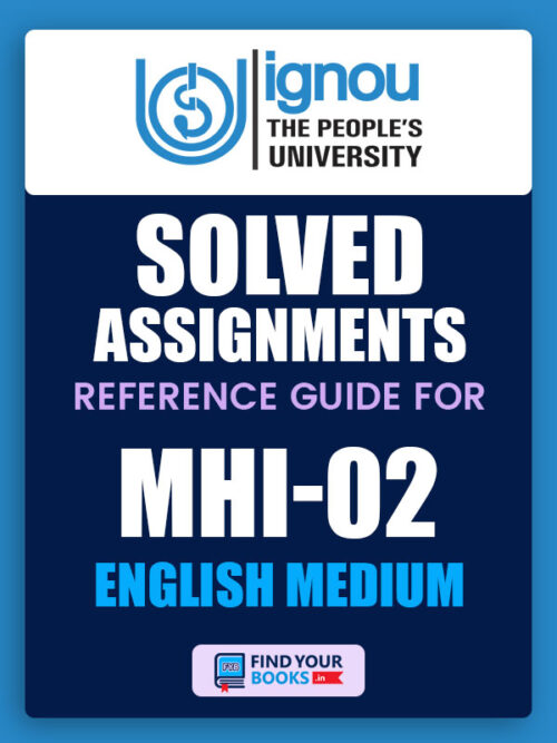 MHI2 IGNOU Solved Assignment English Medium