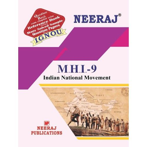 MHI-9 IGNOU Guide Book in English Medium