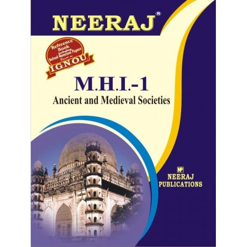 IGNOU: MHI-1 Ancient & Medieval Societies- English Medium