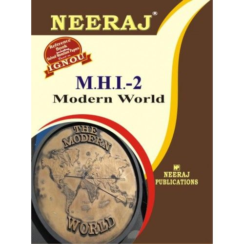 IGNOU: MHI-2 Modern World- English Medium
