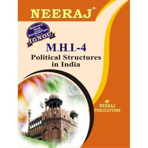 IGNOU: MHI-4 Political Structure in India- English Medium