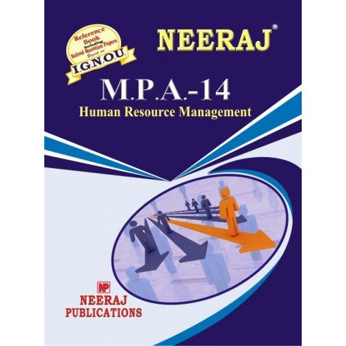 IGNOU: MPA-14 Human Resource Management-English Medium