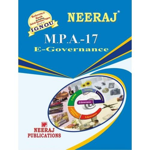 IGNOU: MPA-17  Electronic Governance-English Medium